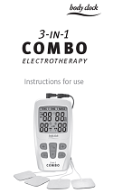 3 in 1 Combo TENS, EMS and Massage Unit